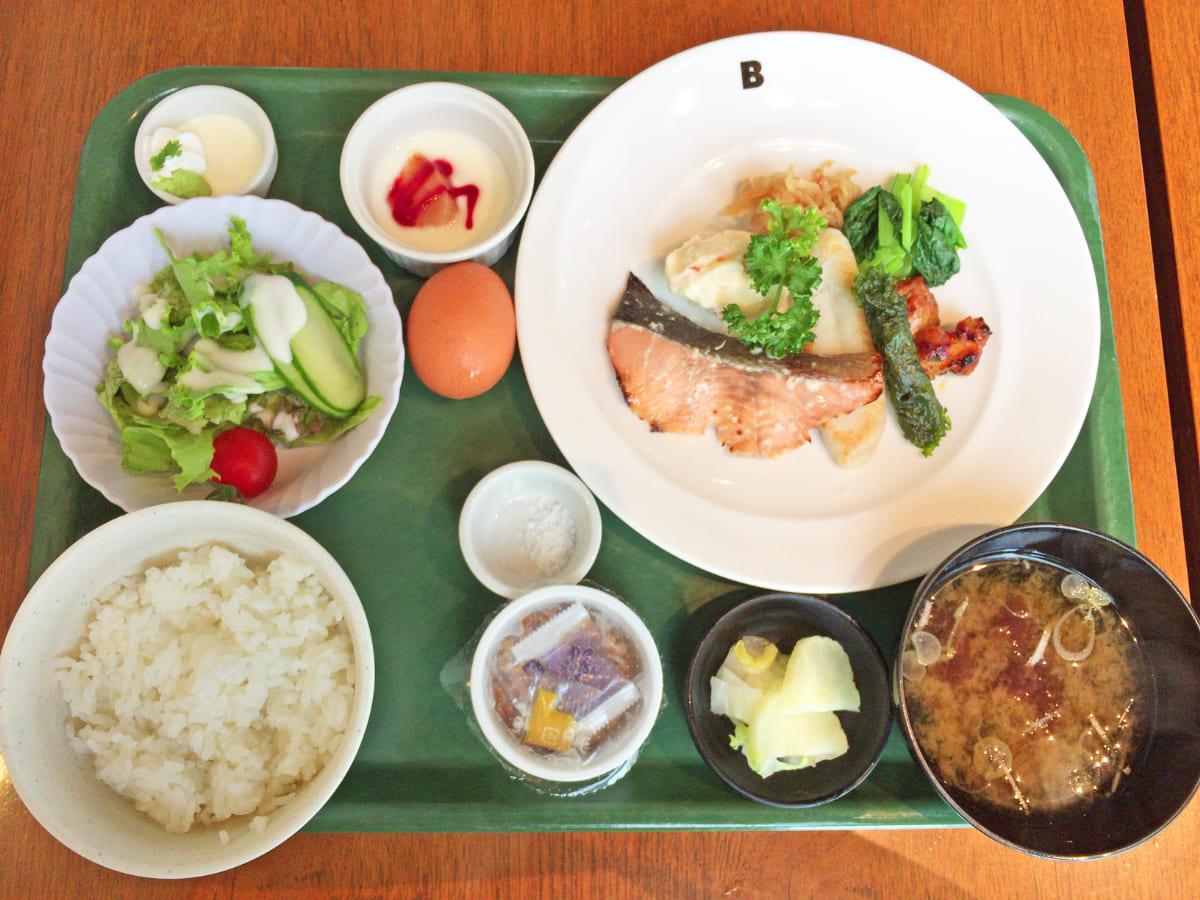 『三井ガーデンホテル仙台』朝食/和定食