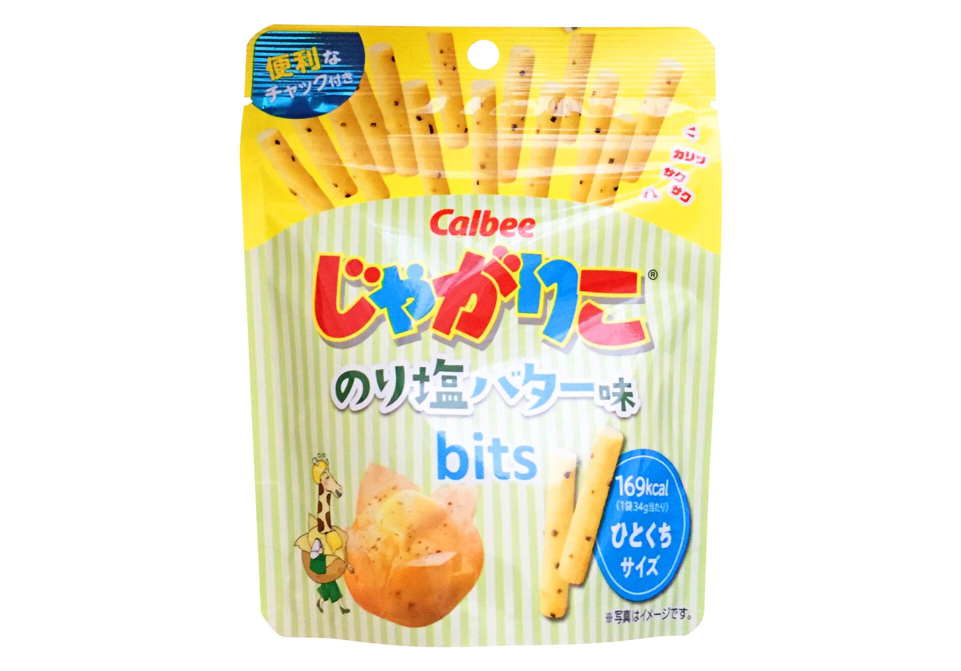 カルビー『じゃがりこ のり塩バター味bits』