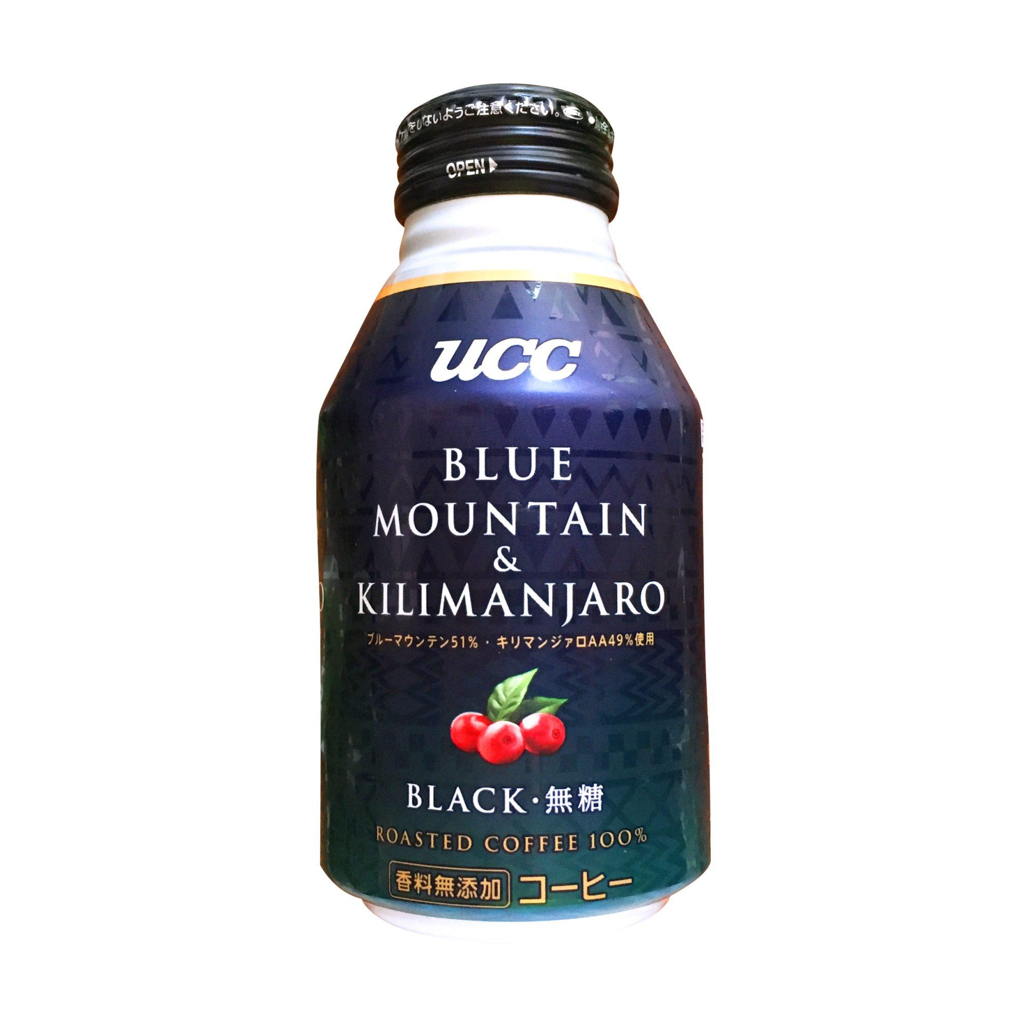 UCC『BLACK ブルーマウンテン&キリマンジァロ リキャップ缶275g』実飲レビュー!秀でた香りとまろやかで奥深いコクを感じられる新時代の缶コーヒー◎