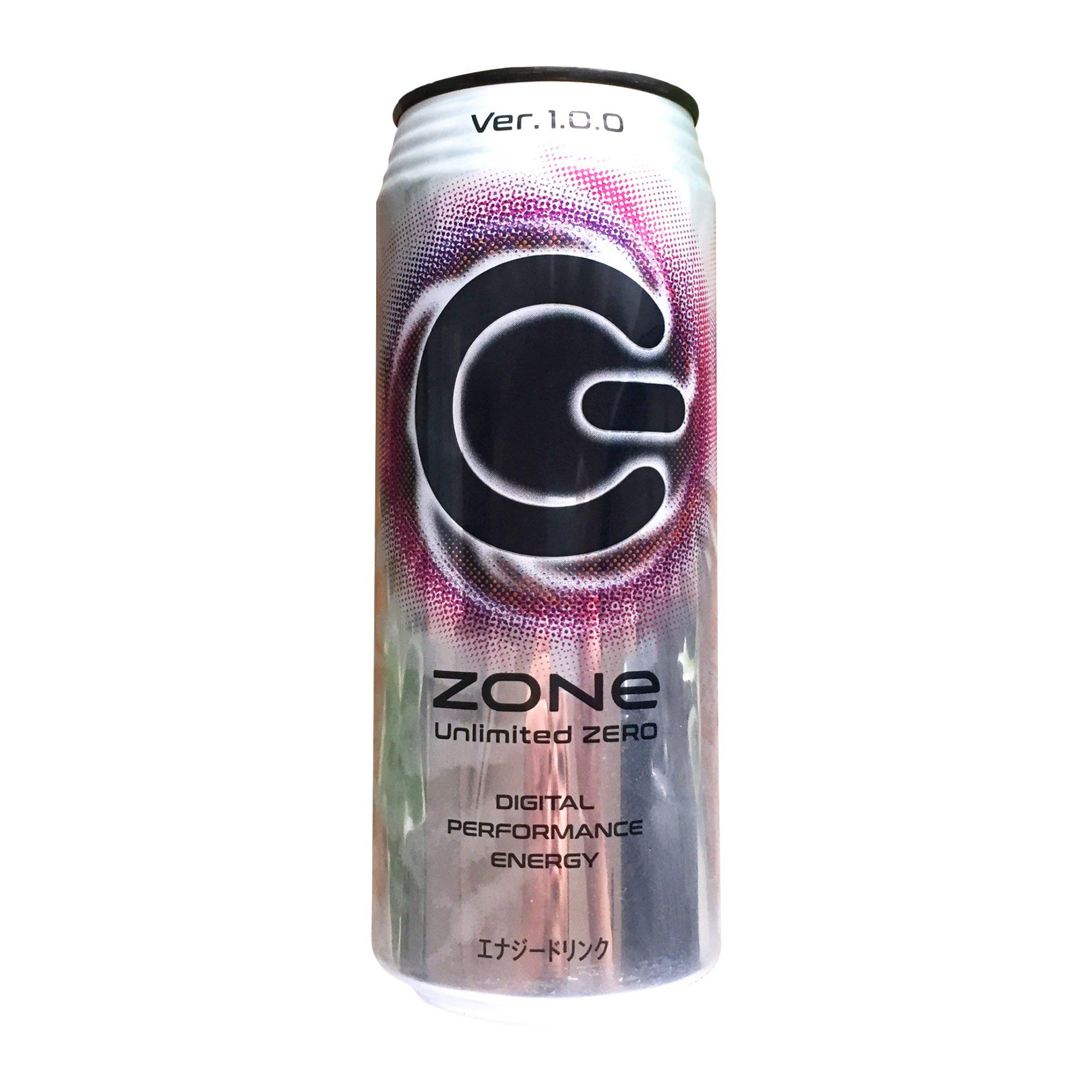 サントリー『ZONe Unlimited Zero Ver.1.0.0 エナジードリンク 500ml』実飲レビュー!大容量でエナドリでゼロカロリー?!な異彩を放つ炭酸飲料◎
