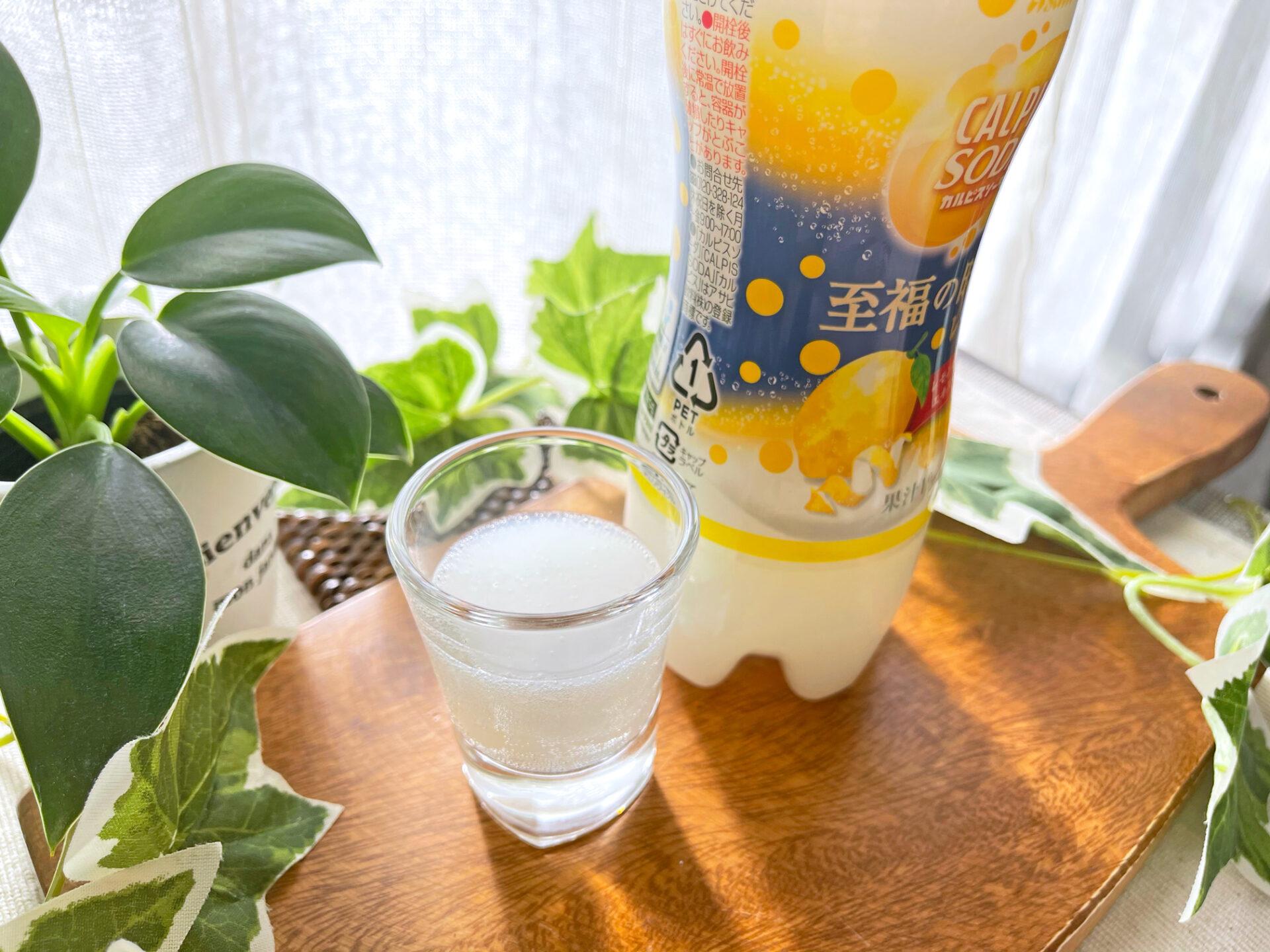 アサヒ飲料『「カルピスソーダ」至福の時間レモン PET500ml』