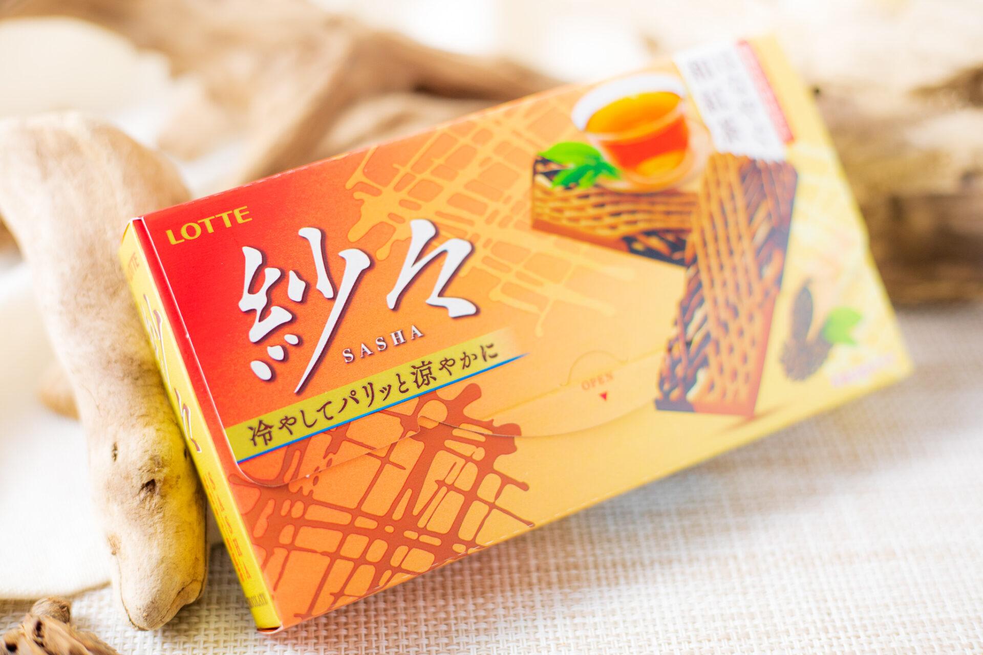 ロッテ『紗々<はなやぐ和紅茶>』