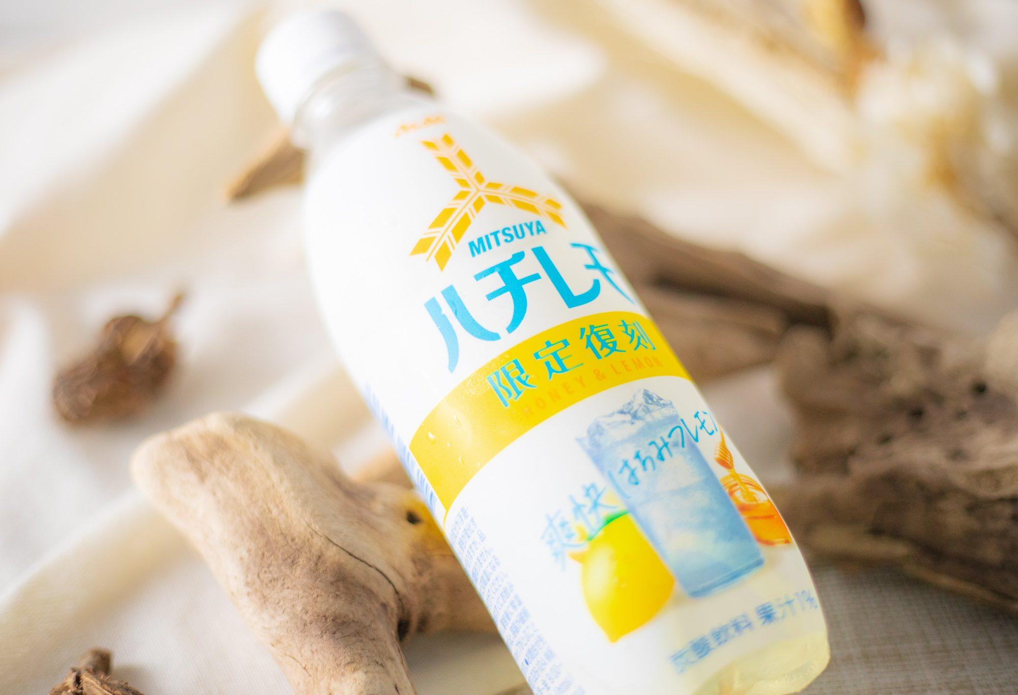 アサヒ飲料『「三ツ矢」ハチレモ PET500ml』ははちみつレモンのほろ苦さと強炭酸が心地よい限定復刻炭酸飲料!