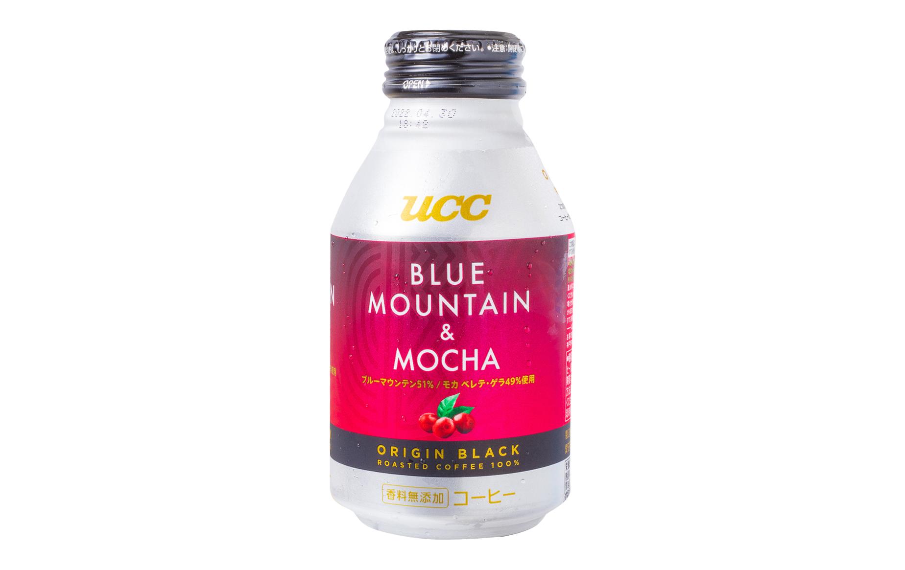 UCC『ORIGIN BLACK ブルーマウンテン & モカ』