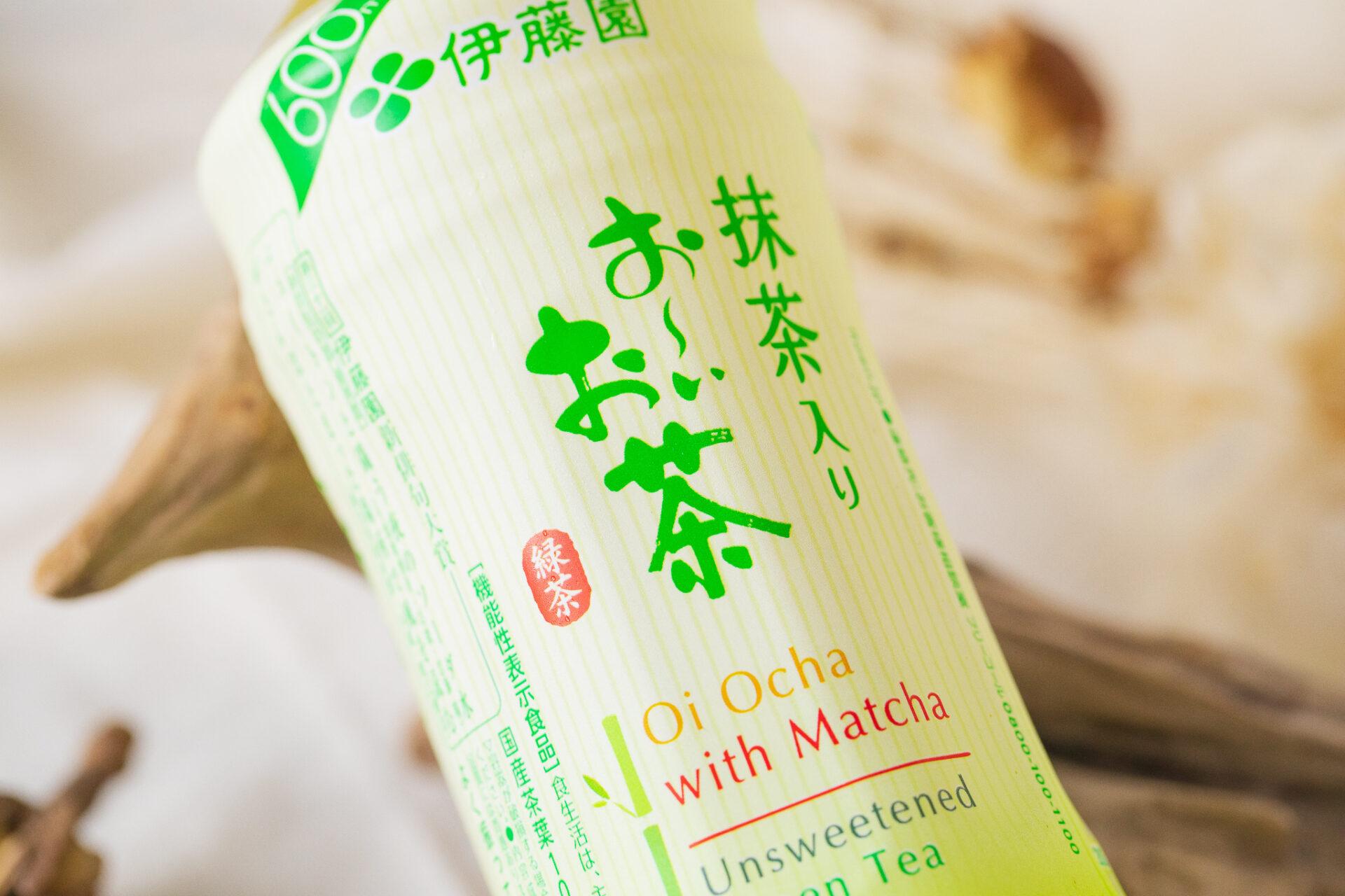 伊藤園『抹茶入り お~いお茶 PET 525ml 【機能性表示食品】』