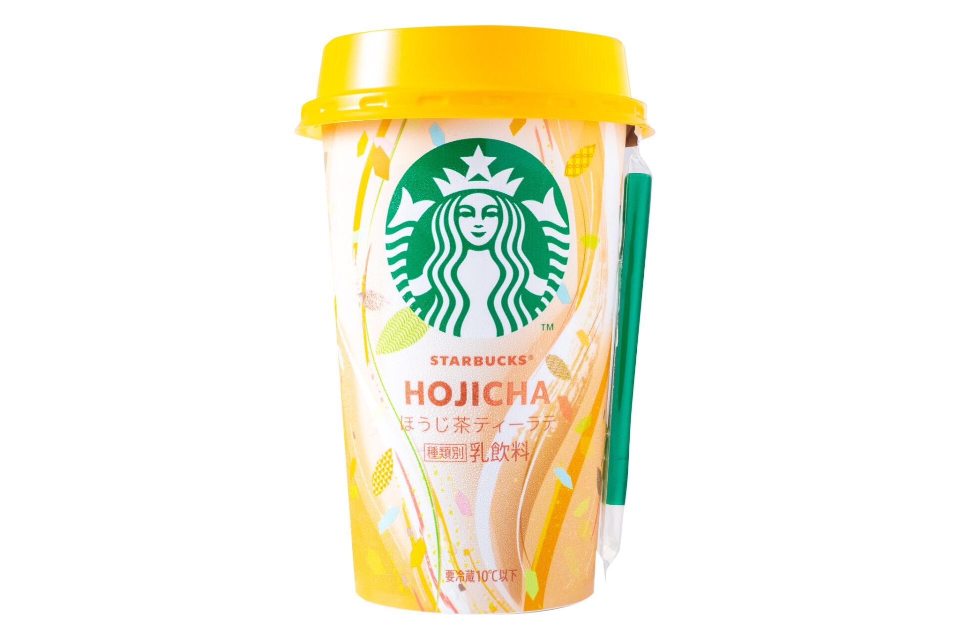 スターバックスチルドカップ『ほうじ茶ティーラテ』
