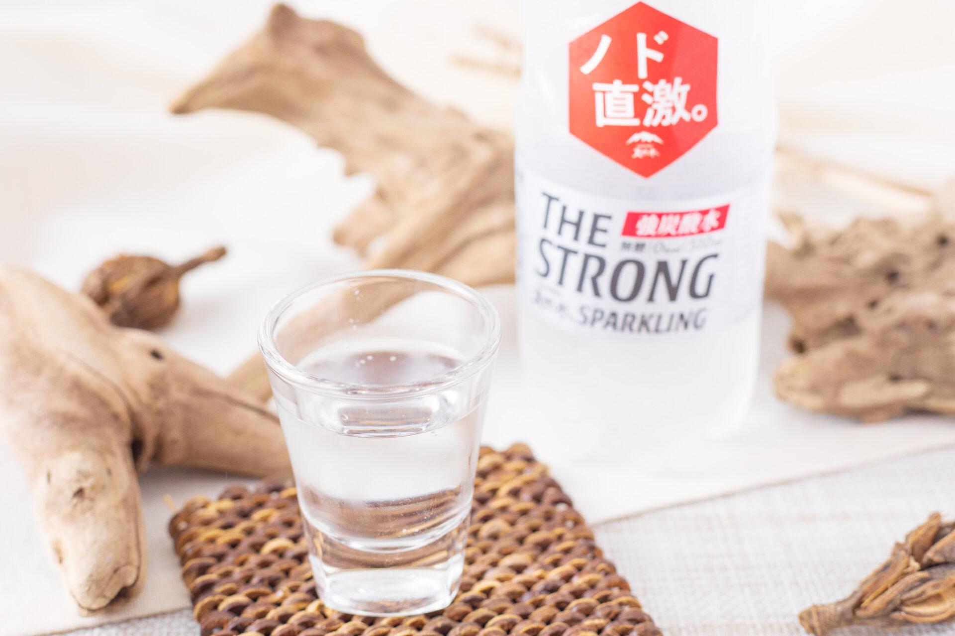 サントリー『THE STRONG 天然水スパークリング』