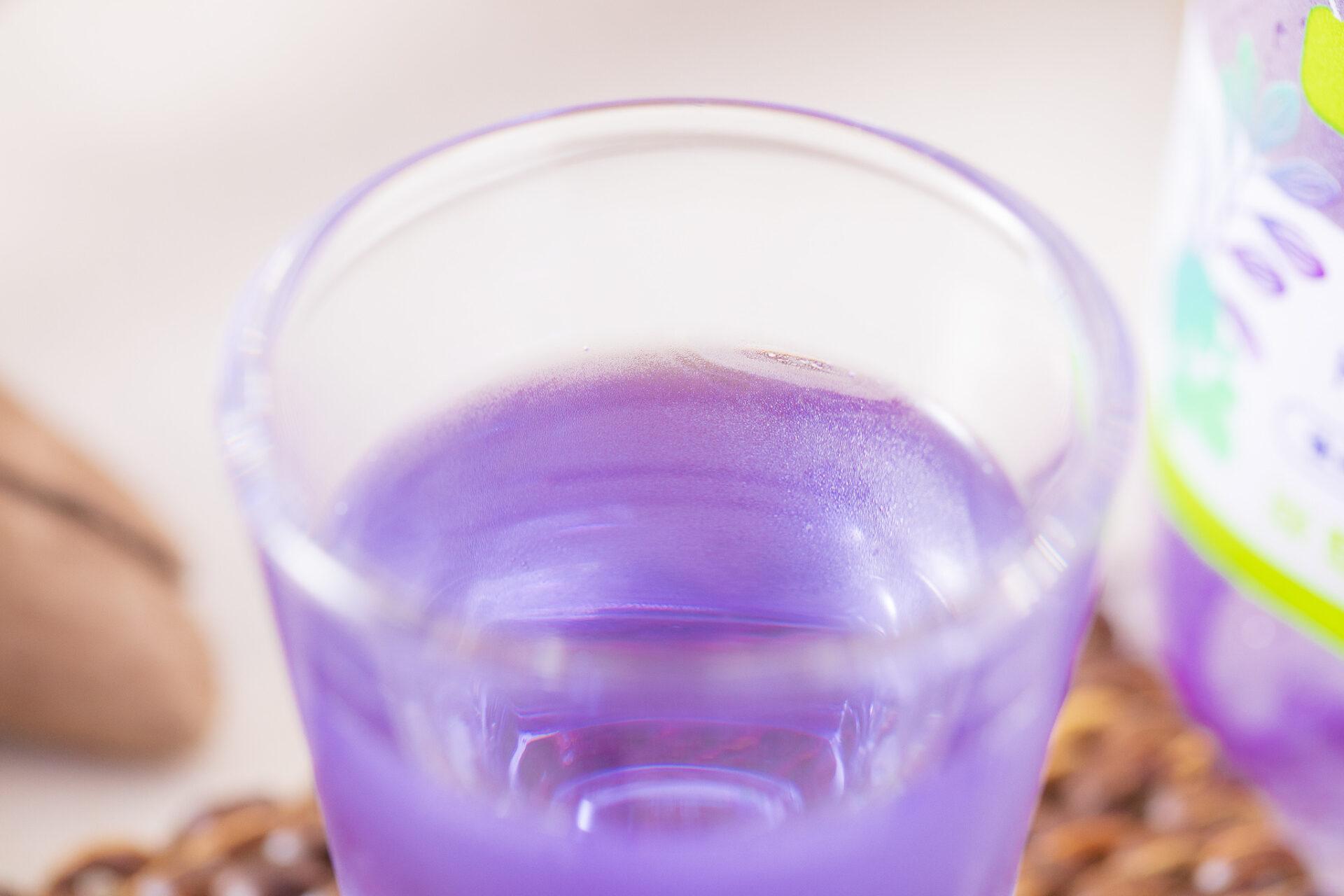 アサヒ飲料『バタフライピーソーダ』