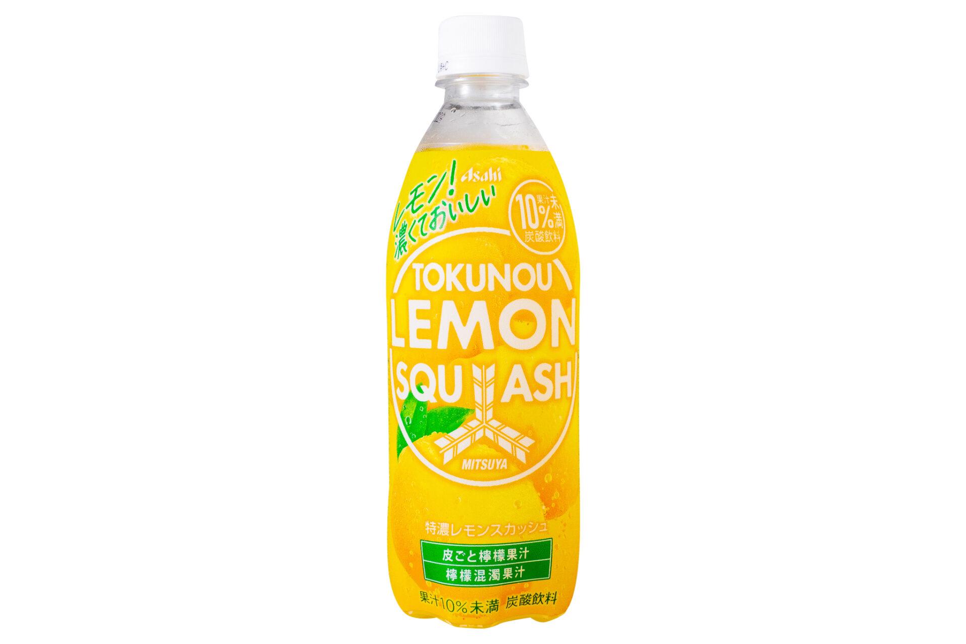 アサヒ飲料『「三ツ矢」特濃レモンスカッシュ PET500ml』