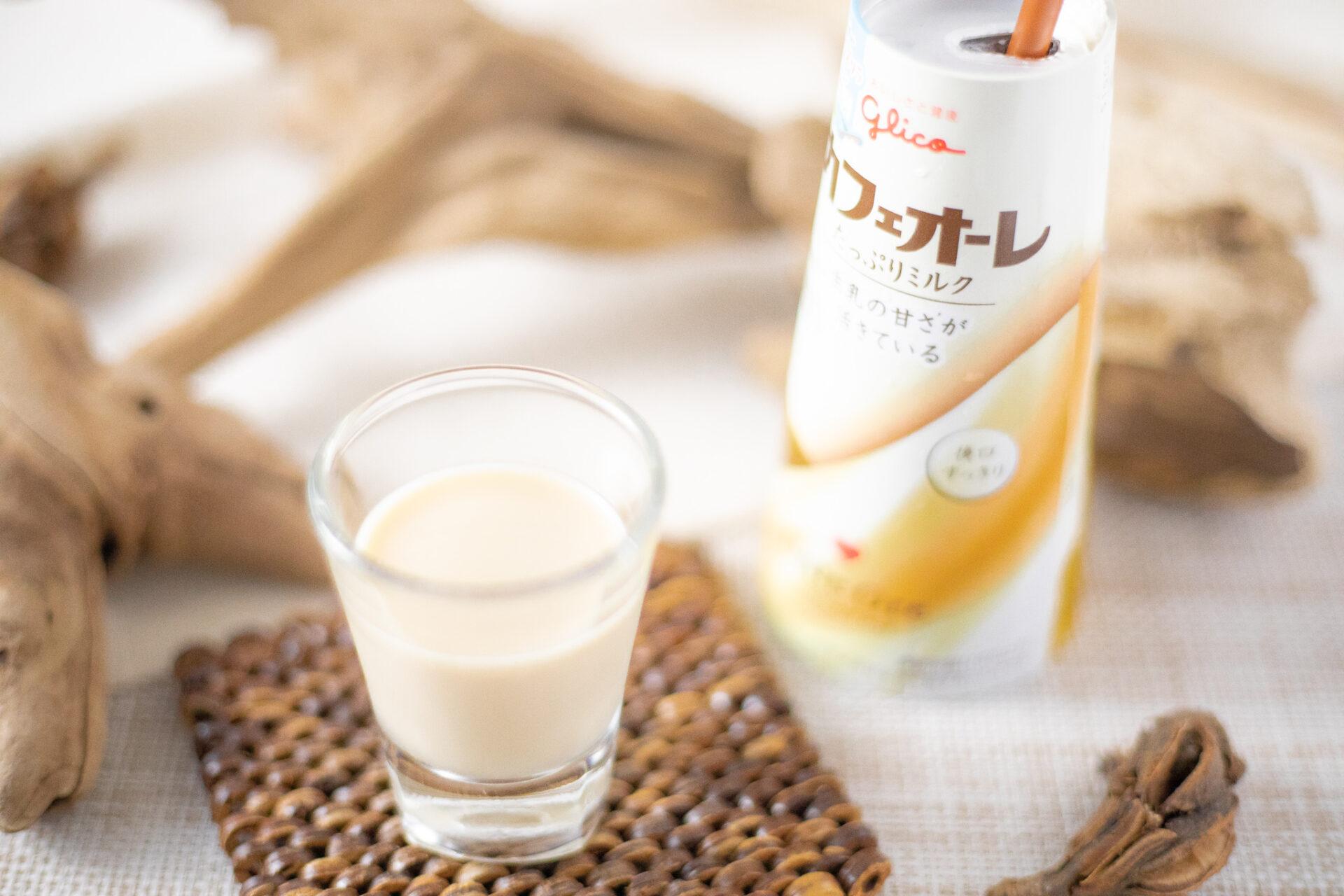 グリコ『カフェオーレ たっぷりミルク180ml』
