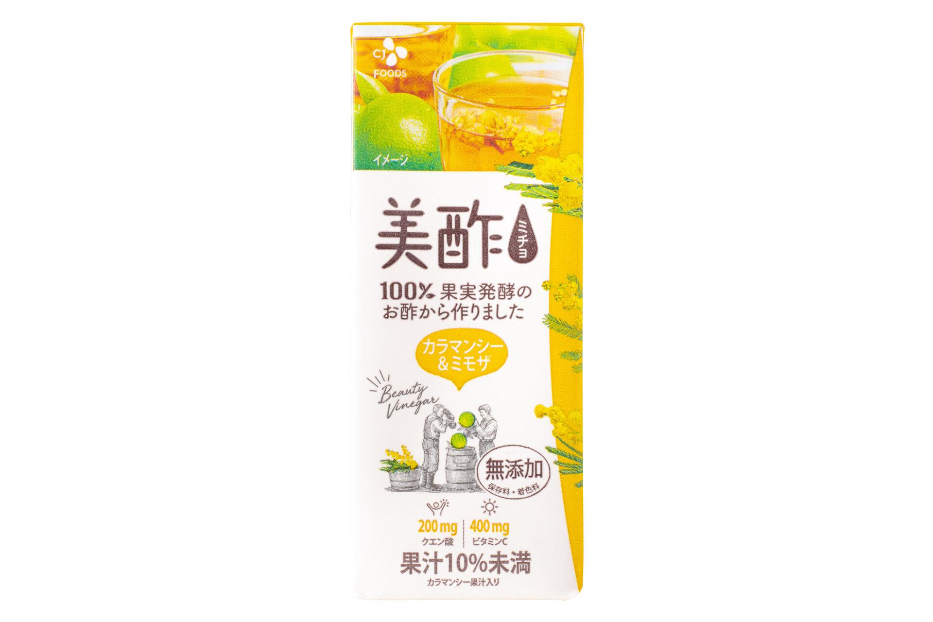CJ FOODS JAPAN『美酢 カラマンシー&ミモザ 200ml』
