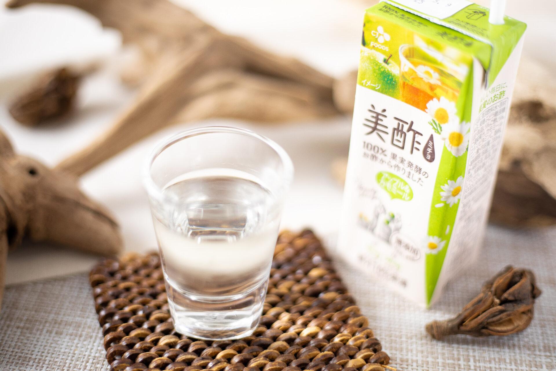 CJ FOODS JAPAN『美酢 アップル&カモミール 200ml』