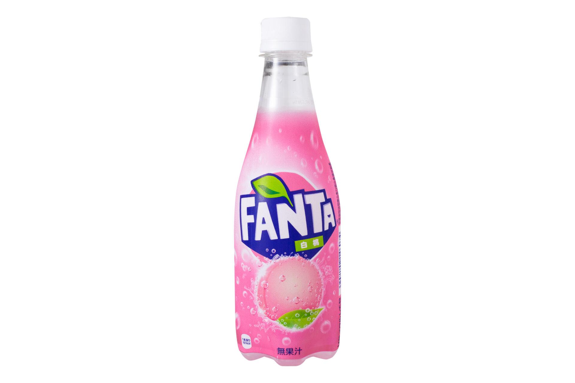 コカ・コーラ『ファンタ 白桃』